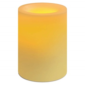 Candle Impressions® Flameless Rd Candle, Champagne
