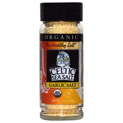 Organic Celtic Sea Salt ® Garlic Salt (2.4 oz)
