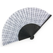 FOLDING FAN SHIPPO GRAY