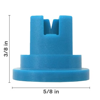 Polyacetal Light Blue 80° Nozzle Spacing