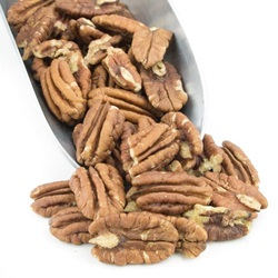 Pecans, 1/2s - Junior - Mammoth - Organic