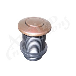 AIR BUTTON: #15 CLASSIC TOUCH, MAHOGANY BRONZE