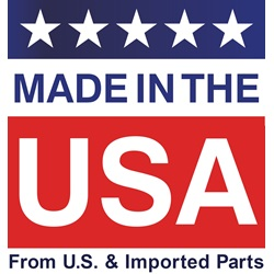 Made in the USA from U.S. and Imported Parts
