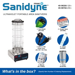 Sanidyne Prime - What's in the box?