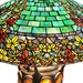 "34""H Tiffany Style Stained Glass Turtleback Mosaic Double-Lit Hampstead Table Lamp"