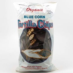 Tortilla Chips, Blue, Organic - 14oz