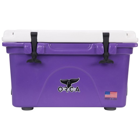 Purple/White 26 Quart