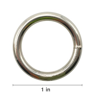 "1/4"" X 1"" Harness Ring"