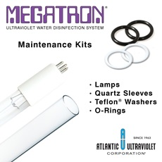 MEGATRON® UV Water Disinfection Systems Maintenance Kits