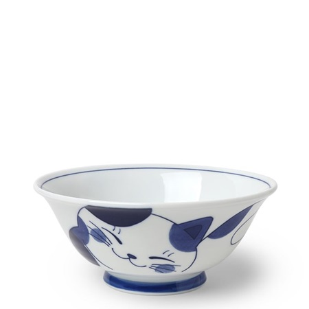 "Blue Cats 7.5"" Bowl"