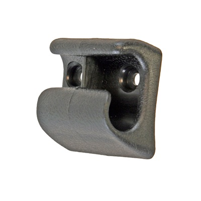 1968 Mustang Center Visor Bracket (Black)