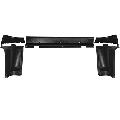 1965-66 Mustang Upper Back Trim Panels (5 Piece Set)
