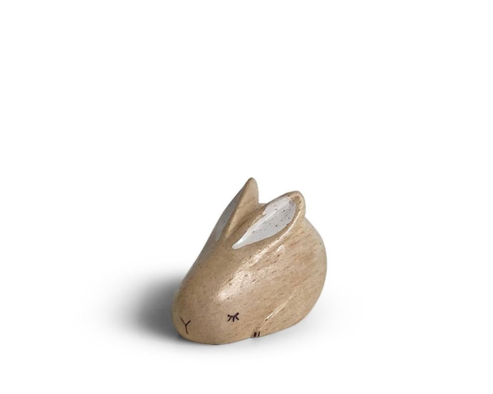 T-Lab Wooden Animal Zodiac Rabbit