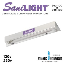 SaniLIGHT® UV Air and Surface Irradiating Fixtures - Cold Cathode