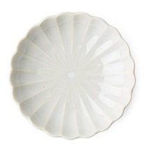 "Kiku 4.5"" Small Plate - White"
