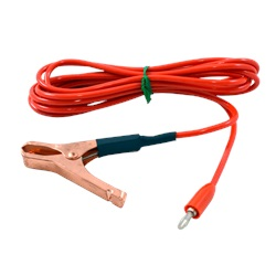 8 ft orange test lead