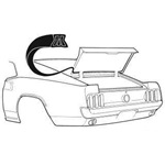 69-70 Fastback Trunk Seal