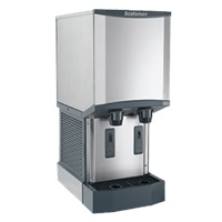 Scotsman HID312A-1 Meridian Ice Machine/Dispenser with Water Dispenser