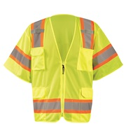 High Visibility Class 3 Two-Tone Mesh Surveyor