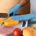 Weber Scientific Disposable Nitrile Gloves - Lightly Powdered Food Grade