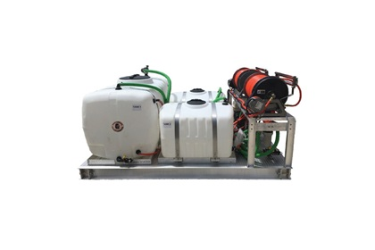 300/100/100 Gallon Multi Tank Sprayer Skid