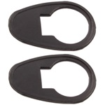 Door lock mounting pad