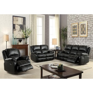 52286 BLACK MOTION LOVESEAT