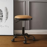 96156 CARAMEL ADJUSTABLE STOOL