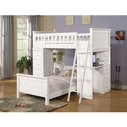 10978A KIT - WHITE TWIN BED