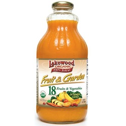 Fruit Garden Summer Gold (Lakewood), Organic - 32oz