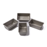 Kitchen Series Mini Loaf Pan Set of 4