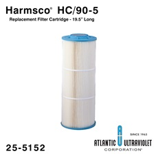 "Harmsco HC/90-5 Replacement Filter Cartridge - 19.5"" Long"