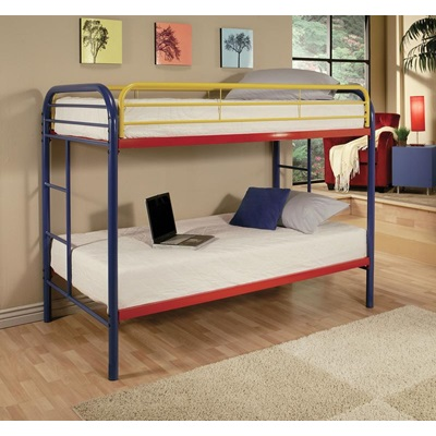 02188RNB RAINBOW TWIN/TWIN BUNK BED