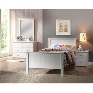 30039 WHITE NIGHTSTAND