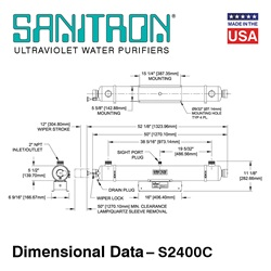 Sanitron Dimensional Data S2400C