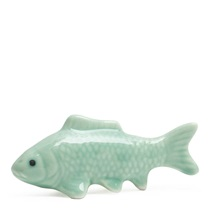 Koi Chopstick Rest - Green