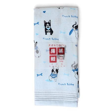 Tea Towel - Blue Frenchie