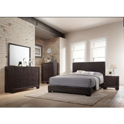14370Q_KIT IRELAND BROWN QUEEN BED