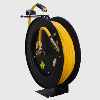 50ft Retractable Steel Hose Reel