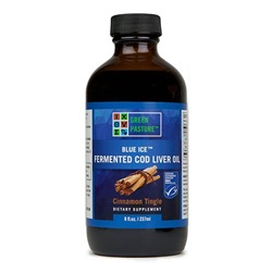 Blue Ice™ Fermented Cod Liver Oil Cinnamon Tingle (237ml)