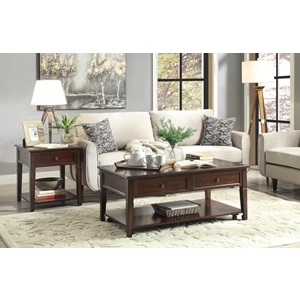 80255 WALNUT END TABLE