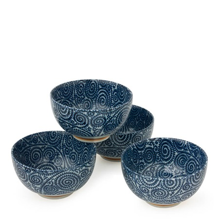 "Tako Karakusa 5"" Bowl Set"