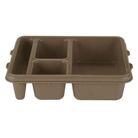Cambro 9114CP161 Meal Delivery Camwear Tray 4-Compartment