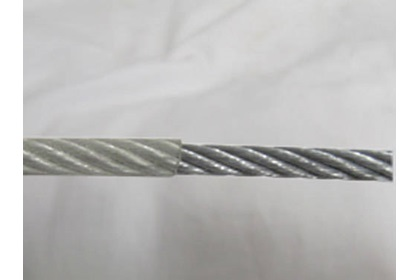 "1/4"" Galvinized Cable, PVC Coated"