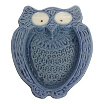 Owl Shaped Grater - Blue