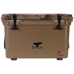 Multicam Camo Lid Tan 40 Quart