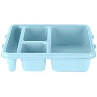 Cambro 9114CP414 Meal Delivery Camwear Tray 4-Compartment