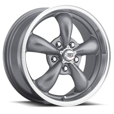 1964-73 Mustang Classic Wheel (Anthracite, 15 x 7 with 4? Backspace)