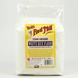 Rice Flour, White, Gluten Free - 48oz