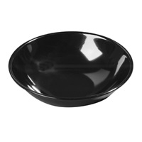 "Carlisle 500B03 Salad Bowl 5-1/2"" Black"